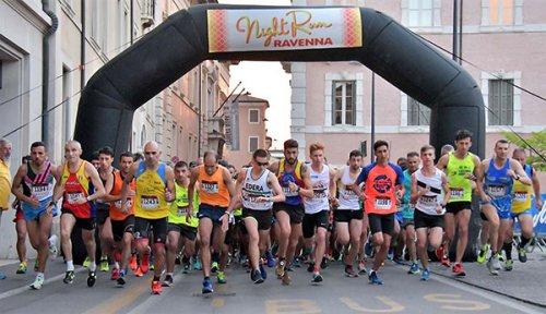 Night run, in mille sulle strade di Ravenna per una serata di sport e divertimento per tutti