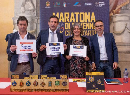 Presentata l'edizione 2019 della maratona di città d'arte