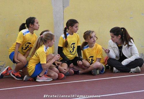 Giovani atleti in mostra nell'ultima prova della Rassegna Regionale Indoor