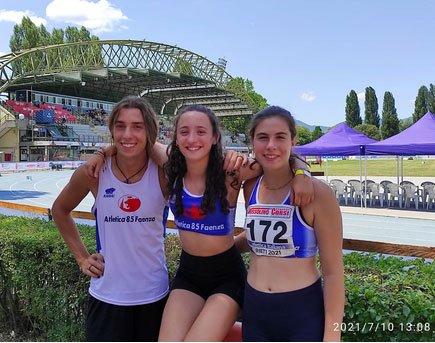 Pioggia di record per Atletica 85 ai Campionati Italiani di Rieti