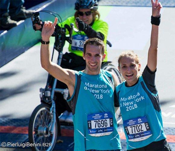Giorgia Mancin e Giovanni Luca Andreealla ci raccontano la loro maratona di New York