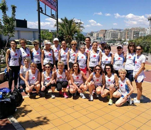 Le Signore della Corsa di Atletica 85 ancora d'argento ai campionati italiani master
