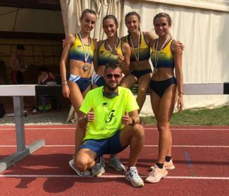 Il titolo italiano di Menghi e l'argento della 4x400 Juniores donne chiudono la tre giorni di Grosseto
