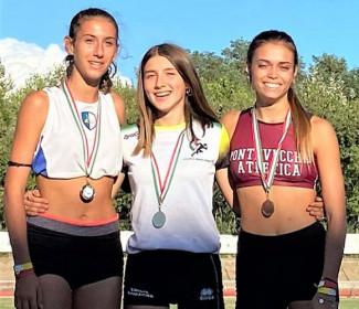 Chiara Facchini vola ai tricolori con il titolo regionale di salto in lungo