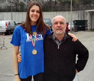 Marta Morara è bronzo agli Italiani Assoluti Indoor