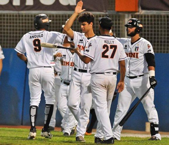 Rimini Baseball vs T&A San Marino 6-3