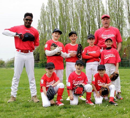 Ferrara baseball, week end col piede gisuto