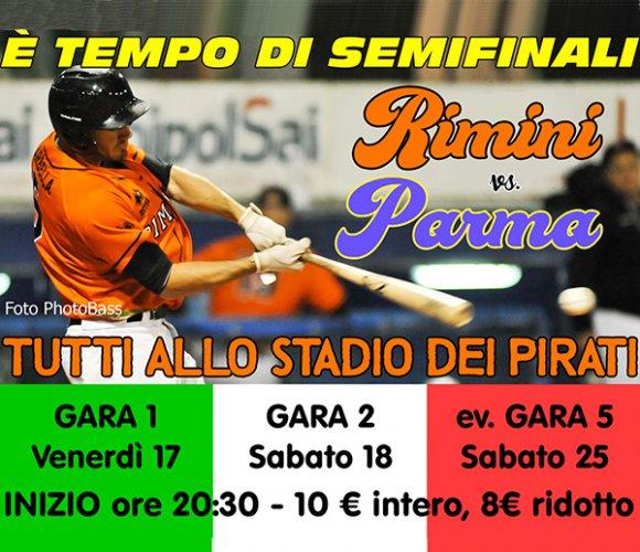 Presentazione della Semifinale Playoff Rimini vs Parma