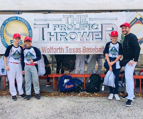 Ferrara baseball presente al prolific thrower 2018