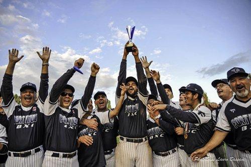 Fortitudo Bologna White Sox Campione d'Italia Baseball per Ciechi