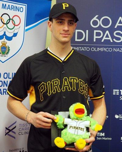 Alessandro Ercolani ha firmato coi Pittsburgh pirates