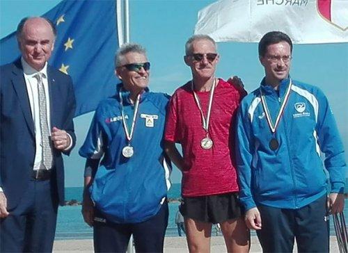 Titolo tricolore per Pierino Tamburini nella 10 km di marcia
