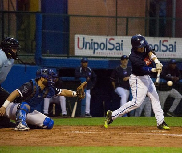 Julian Dreni alla Fortitudo baseball