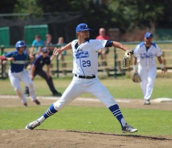 Dimitri Kourtis al San Marino Baseball