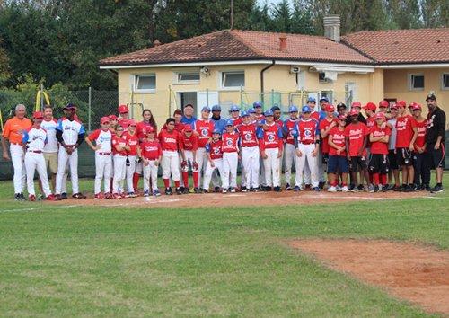 Ferrara baseball,  pitch day a gonfie vele