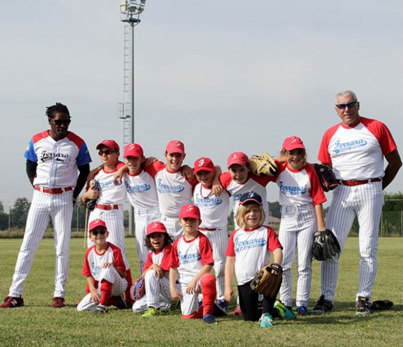 Ferrara baseball, i pulcini dominano il trofeo rookies