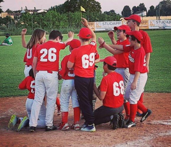 Studapp, l' under 12 della Baseball Ferrara a viso aperto contro la capolista Pianoro