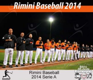FOTO STORICHE -  Rimini Baseball 2014