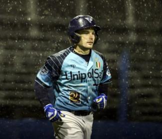 Riccardo Bertossi rinnova con l'UnipolSai Fortitudo Baseball Bologna