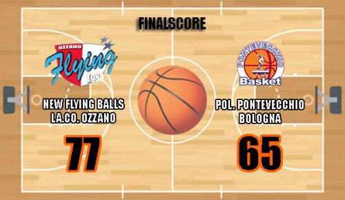 Play-off - La.Co. Ozzano vs Pontevecchio 77-65