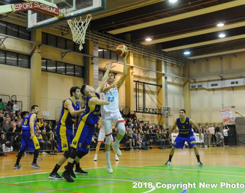 Play-off - Fiorenuzola – La.Co. Ozzano 70–82