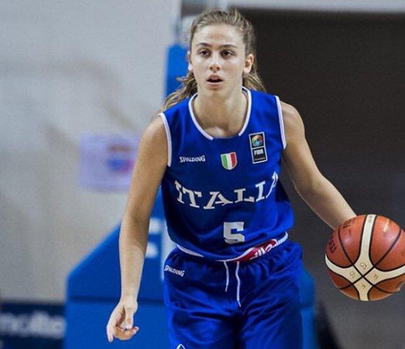 Alessandra Orsili convocata per il mondiale under 17 a Minsk
