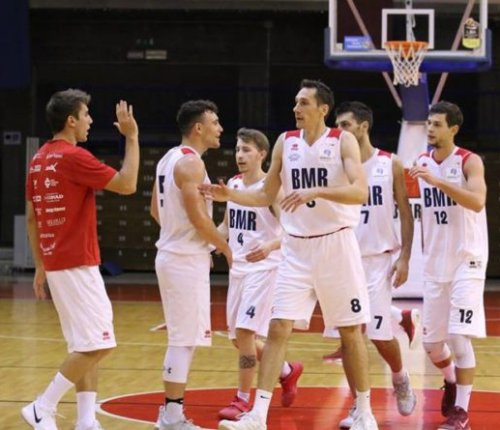 BMR Scandiano vs Gordon Olginate 78-75