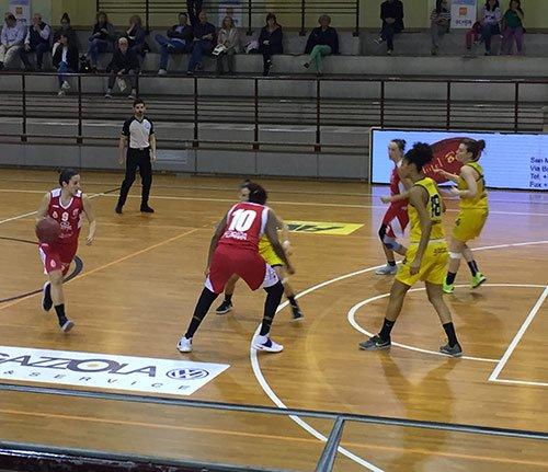Fanola San Martino di Lupari - B.ethic Bonfiglioli Ferrara 55-60 (18-20, 32-31, 42-49)