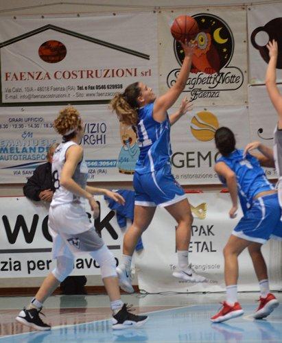 Faenza basket project - Feba Civitanova Marche 72-69