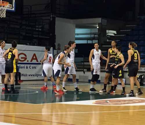 B.ethic Ferrara vs S.Martino di Lupari 48-38