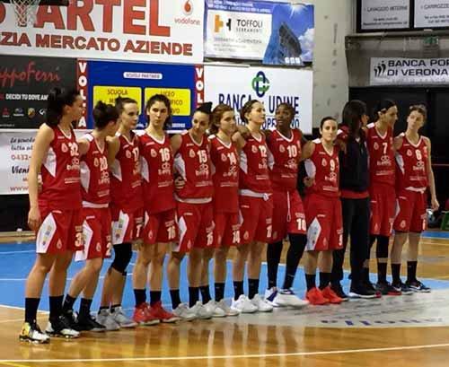 Delser Udine vs B.ethic Ferrara  61-47