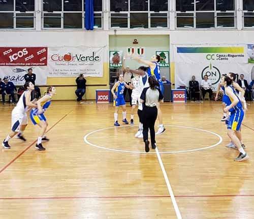 B.ethic Ferrara vs Basket Stabia 63-53