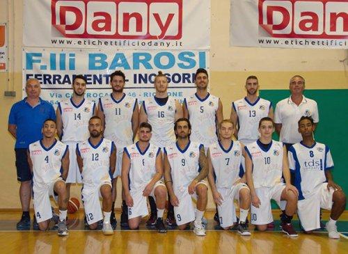 Dany dolphins Riccione vs  Cestistica Argenta 80-95