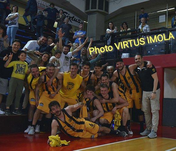 Virtus Imola – Pol. Arena 95-60 (18-8; 43-29; 71-44)