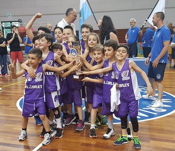 "Firenze vince la prima ""San Marino minibasket cup"""