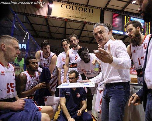 Aurora Basket Jesi – Unieuro Forlì 87-89 (23-22; 40-41; 56-57; 80-80)