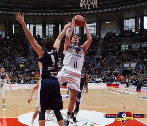 Fortitudo Bologna vs Piacenza 76-70