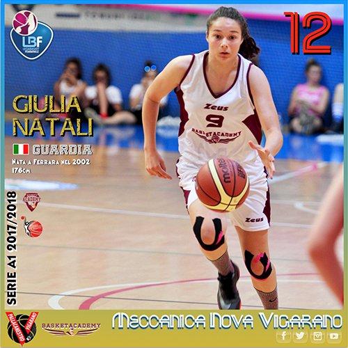 Serie A: Giulia Natali è MVP Giovane agli Oscar LBF