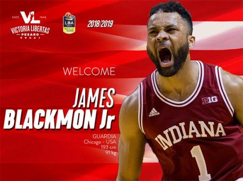 James Blackmon Jr è la nuova guardia della Vuelle