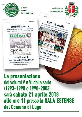 Presentazione V e VI volume di Robur-pedia