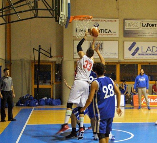 Promozione Girone  D : Navile Basket  - Omega Basket  68 - 67