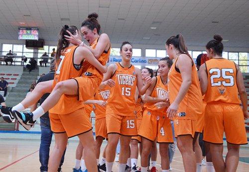 Tigers Rosa – Mercede Alghero 72 – 64 (26-21; 11-19; 13-11; 22-13)