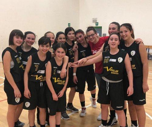 BSL  San Lazzaro - Siropack nuova Virtus Cesena 61 - 60 (7-24 / 29-38 / 45-44)
