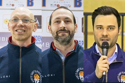 Lo staff della Malloni prende forma: confermati Stefano Agolini, Marino Pelusi e Mario Matricardi