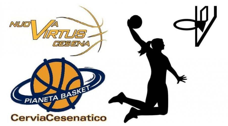 Nuova Virtus Cesena e Basket CerviaCesenatico insieme per crescere