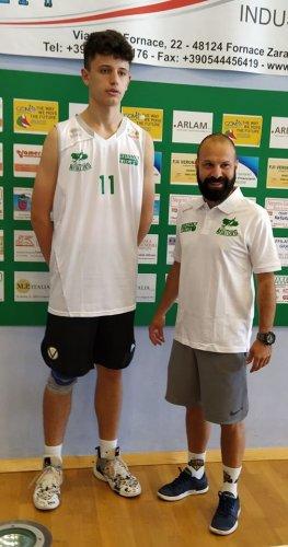 E' Giulio Martini il nuovo arrivo nel Basket Lugo.