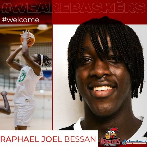 Raphael Joel Bessan  e' un nuovo giocatore dei Baskérs Forlimpopoli