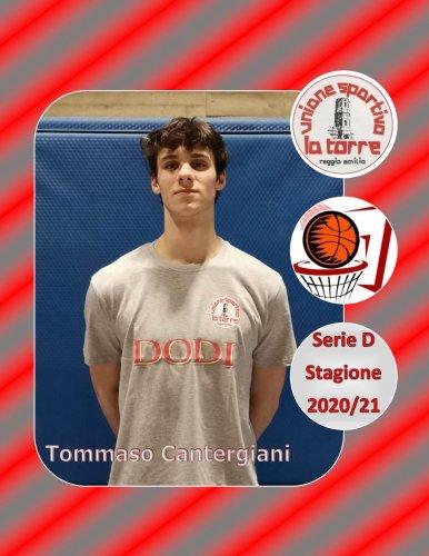 U.S. La Torre Reggio Emilia : confermato Tommaso Cantergiani