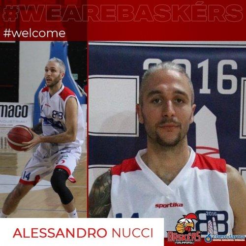 Baskèrs  Forlimpopoli :Preso Alessandro Nucci