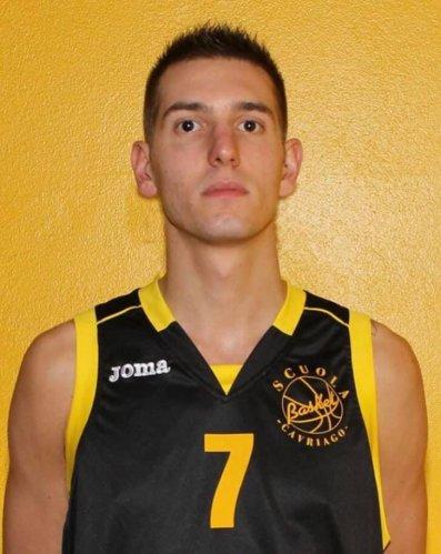Luca D'Amore è nuovo giocatore del Rebasket Rubiera